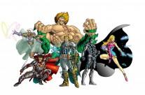 Astro Heroes color